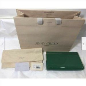 Authentic Jimmy Choo Womens Clutch Hand Bag